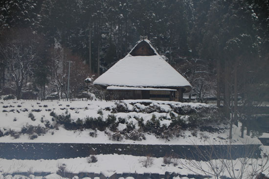 葛川かや葺きの家 14雪けしき9_e0048413_1752078.jpg