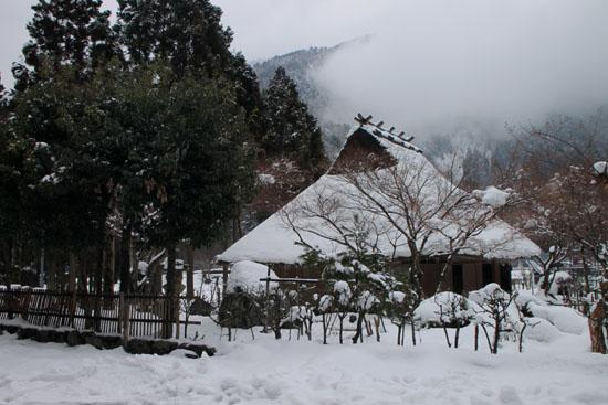 葛川かや葺きの家 14雪けしき9_e0048413_17521122.jpg