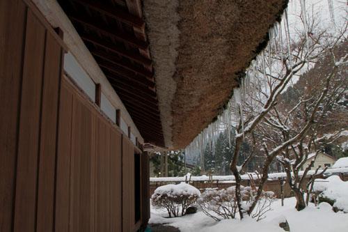 葛川かや葺きの家 14雪けしき9_e0048413_17524087.jpg