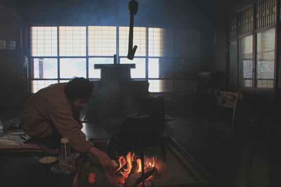 葛川かや葺きの家 14雪けしき9_e0048413_1753144.jpg