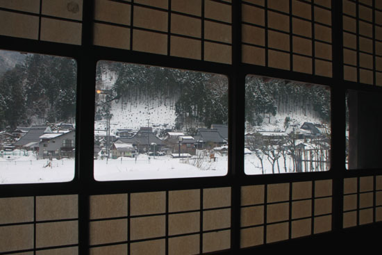 葛川かや葺きの家 14雪けしき9_e0048413_17532651.jpg