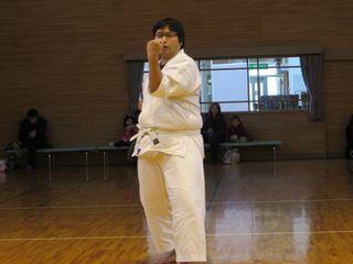 日曜空手 新琴似・新川教室 昇級審査会_c0118332_15355434.jpg