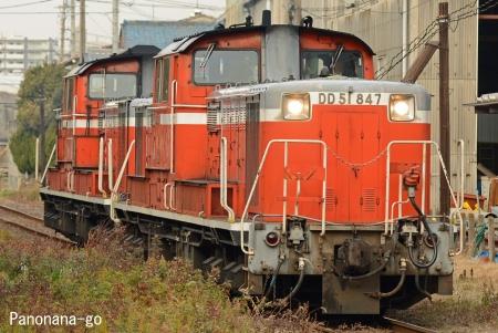 路線を漂う ~機関車のみによる運転~_c0185241_0323462.jpg
