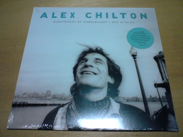 先週到着レコ 〜 Electricity By Candlelight/NYC 2/13/97 / Alex Chilton_c0104445_22475285.jpg