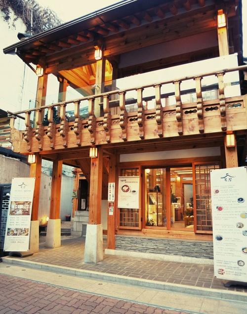 X\'mas in Seoul ⑪仁寺洞・伝統茶カフェでタンパッチュ♪_f0236260_0204835.jpg