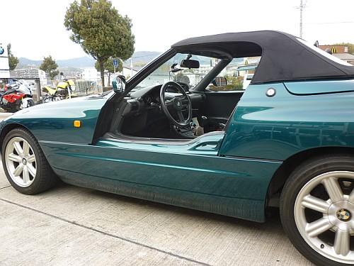 珍しい訪問者 クルマ編 BMW-Z1・・・・_e0254365_18394957.jpg