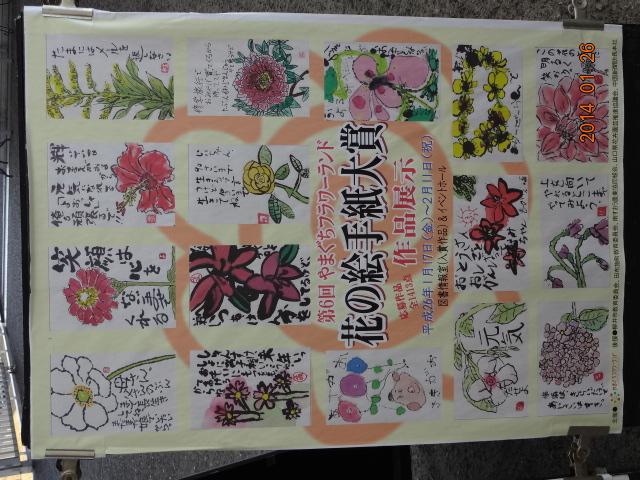 花の絵手紙展に行ってきました_a0220570_23123156.jpg