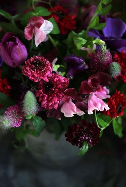 モロッコ咲きのラナンキュラスを使ったbouquet_f0127281_21185742.jpg