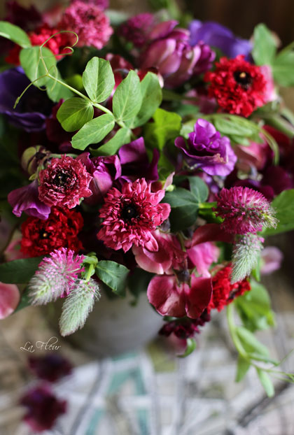 モロッコ咲きのラナンキュラスを使ったbouquet_f0127281_21191010.jpg