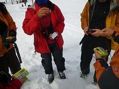 雪崩リスク管理・対応トレーニング_e0064783_10055689.jpg
