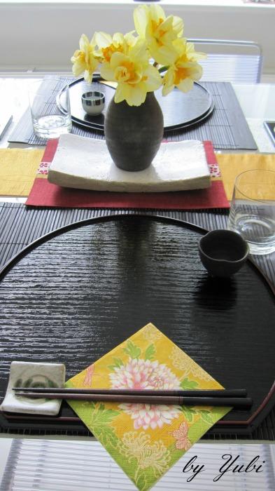 義叔父ファミリーへの和食のおもてなしテーブル_b0313387_06575697.jpg
