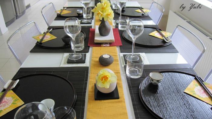 義叔父ファミリーへの和食のおもてなしテーブル_b0313387_06593458.jpg