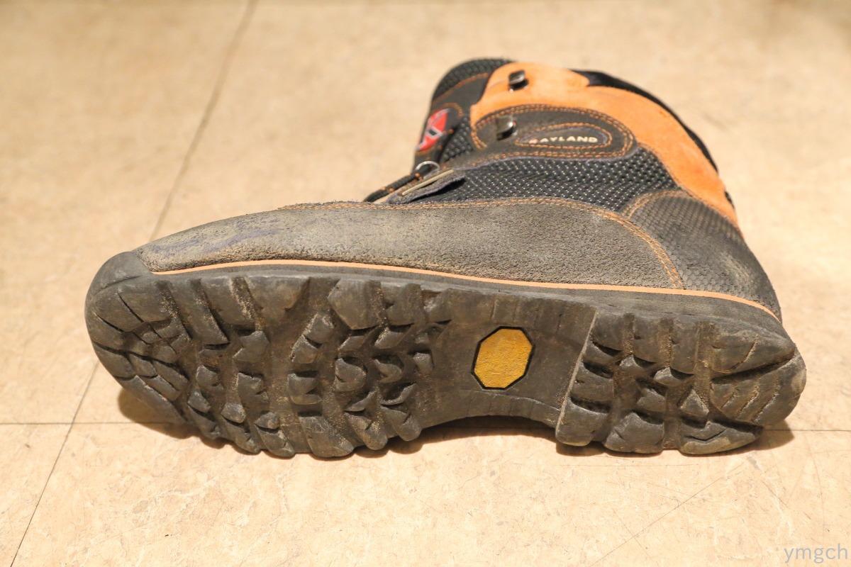 登山靴ソール交換_f0157812_1657919.jpg