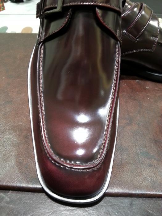 ガラス仕上げや顔料仕上げの靴にはクリームエッセンシャルを_b0226322_20510483.jpg