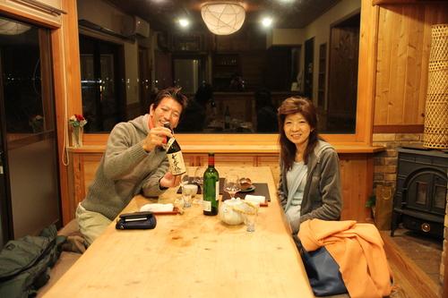 女将と主人の小さな旅 『熊を食す!!!。』 5_d0033734_20315636.jpg