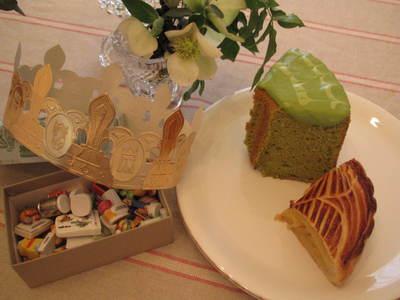 Galette des roise....ciffon cake_e0220645_17263279.jpg