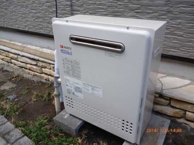 給湯専用 ガス給湯器を入替えました_e0207151_15264716.jpg