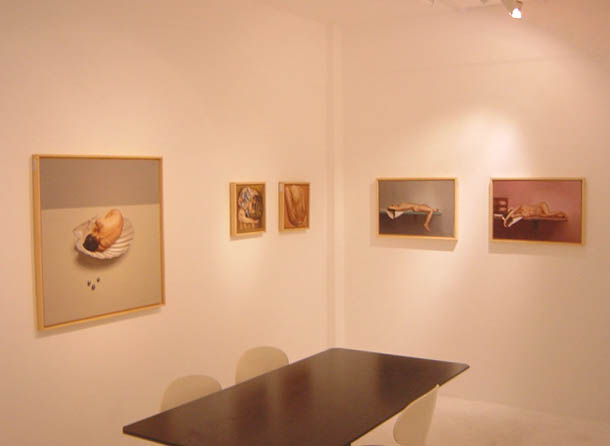 LAURA BENEDETTI  展  NUDI SENTIMENT   NAKED FEELINGS_e0080662_14372256.jpg