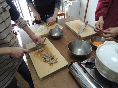 きんぴら、麻婆豆腐、かぼちゃプリンを作りました_b0252363_22135533.jpg