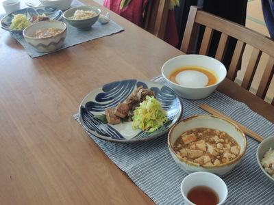 きんぴら、麻婆豆腐、かぼちゃプリンを作りました_b0252363_2225720.jpg