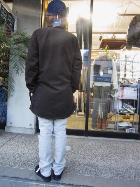 コイツは、春使えるCOAT JKT です☆★ EXTRA MILE USA ・・・ SEP COAT (別注・修正版)!♪!_d0152280_23571857.jpg