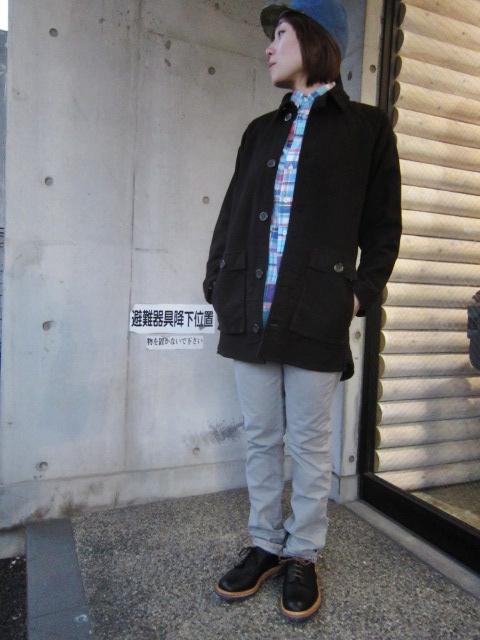 コイツは、春使えるCOAT JKT です☆★ EXTRA MILE USA ・・・ SEP COAT (別注・修正版)!♪!_d0152280_23574085.jpg