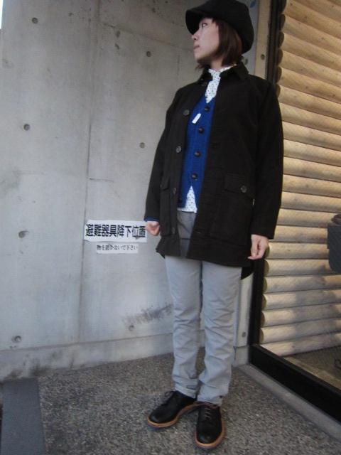コイツは、春使えるCOAT JKT です☆★ EXTRA MILE USA ・・・ SEP COAT (別注・修正版)!♪!_d0152280_23592230.jpg