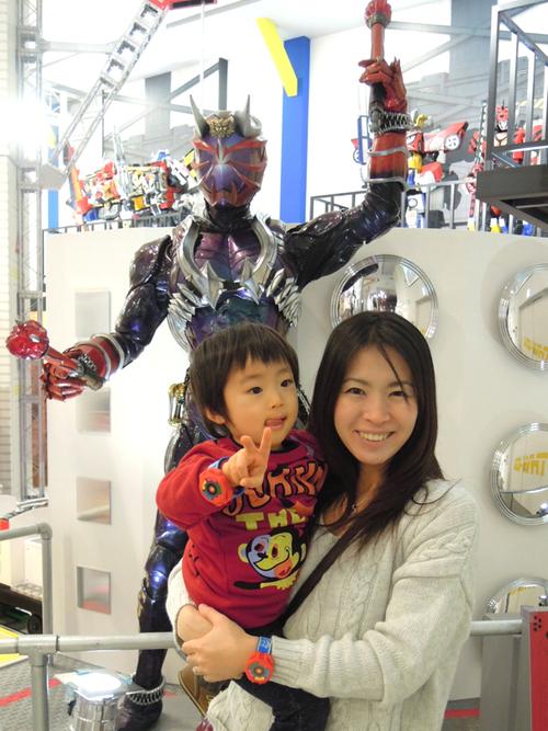 東映ヒーローワールドに行って来ました!_e0030586_11335351.jpg