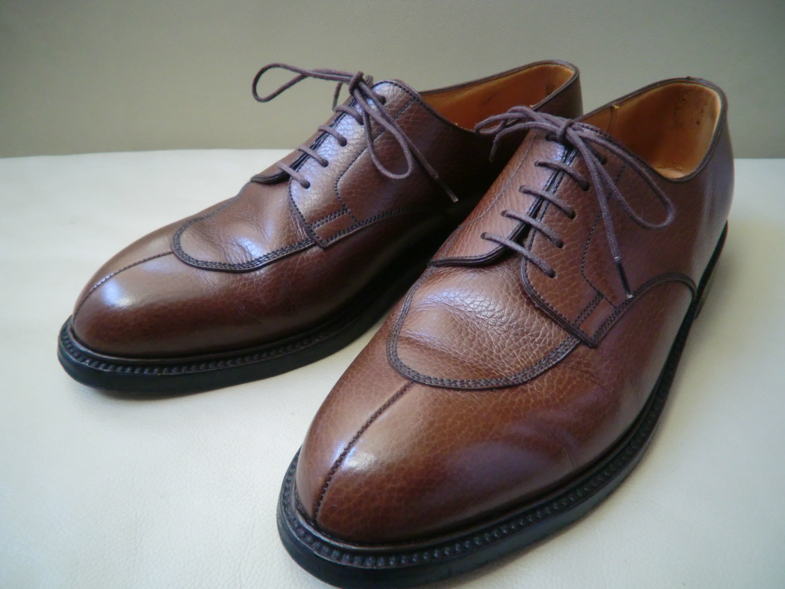 "J.M WESTON  ""#598 Split-Toe Classic Derby\""  その2_a0216198_012454.jpg"