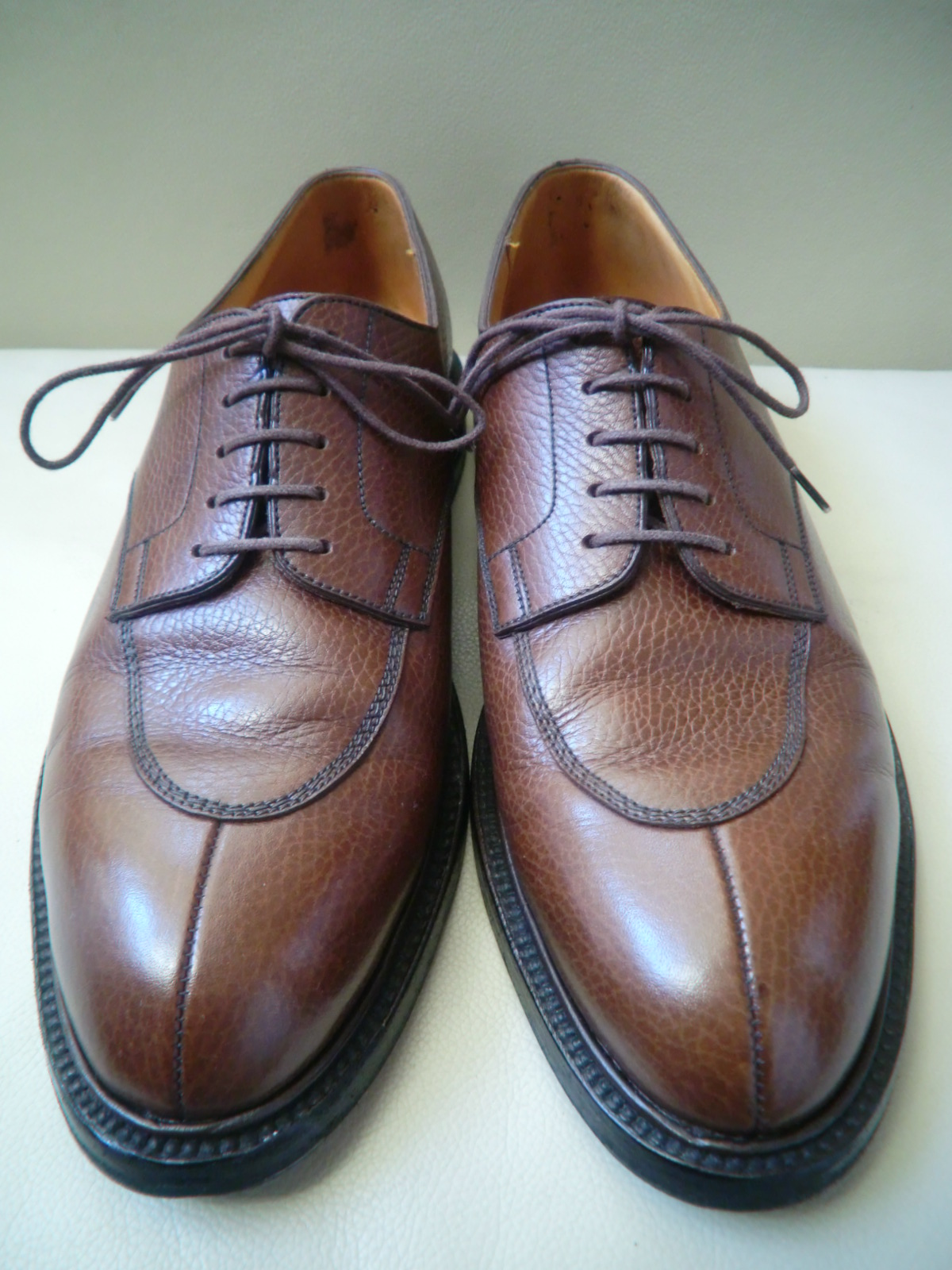 "J.M WESTON  ""#598 Split-Toe Classic Derby\""  その2_a0216198_0153281.jpg"