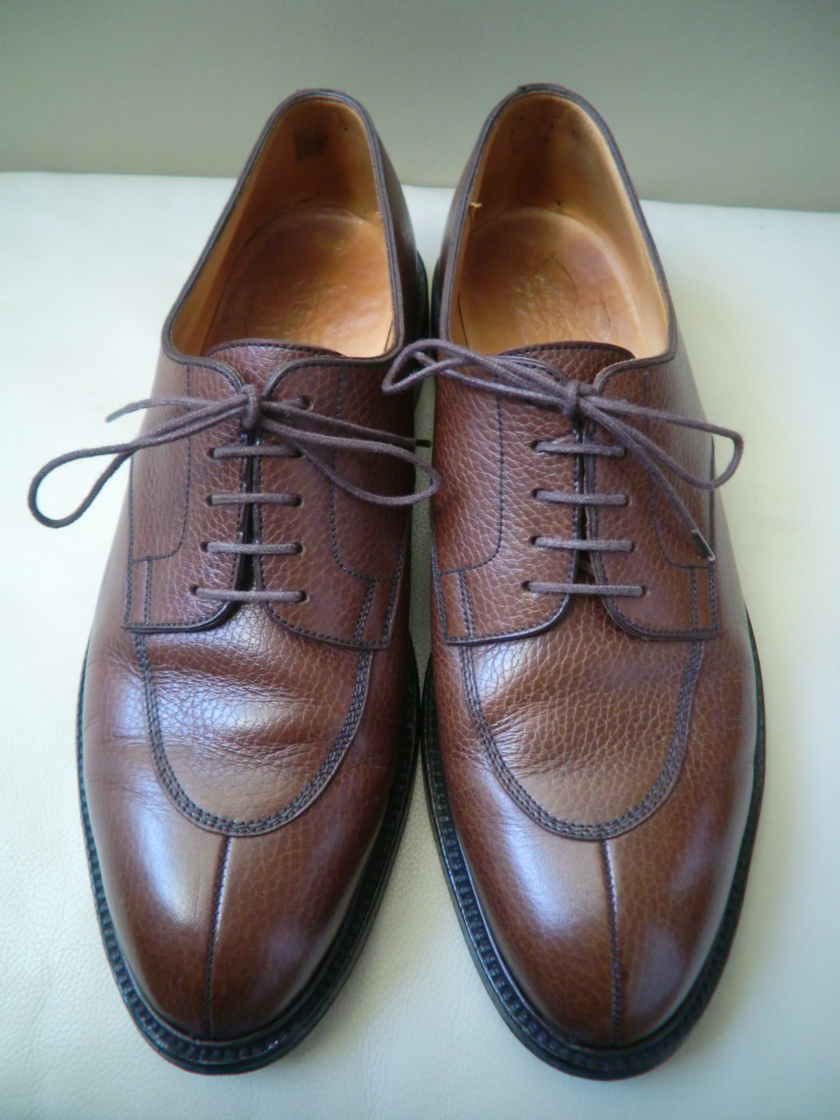 "J.M WESTON  ""#598 Split-Toe Classic Derby\""  その2_a0216198_0211522.jpg"