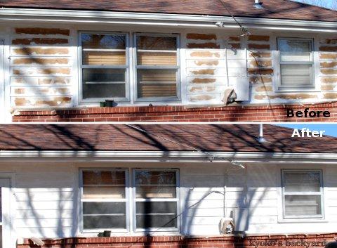 家の外装ペンキ塗りプロジェクト その3_b0253205_1295074.jpg