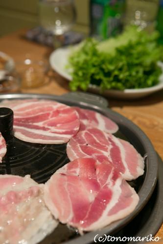 韓国レストランでおしゃべりナイト_c0024345_22182311.jpg