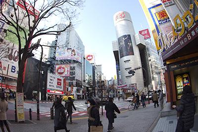 1月28日(火)の渋谷109前交差点_b0056983_11392775.jpg