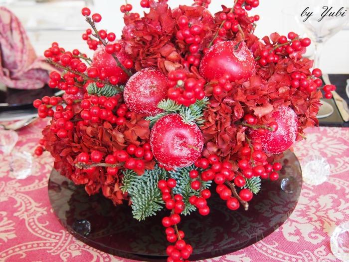 クリスマスディナーテーブルコーディネート_b0313387_07332752.jpg