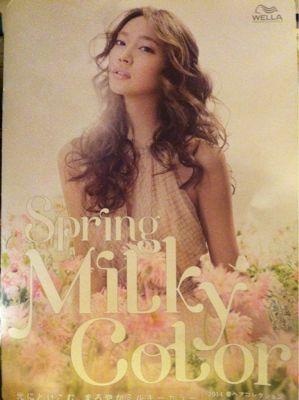 2014spring milky color_c0184210_14382853.jpg