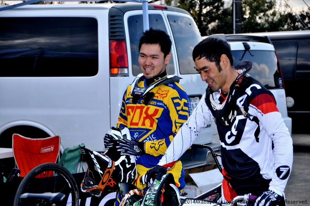 JOSF2014 OPENING RACE(緑山1月定期戦)VOL15:コース外の風景_b0065730_2012826.jpg