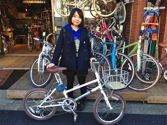 ☆今日のバイシクルガール5本立て☆ 自転車 女子 おしゃれ_b0212032_222209.jpg