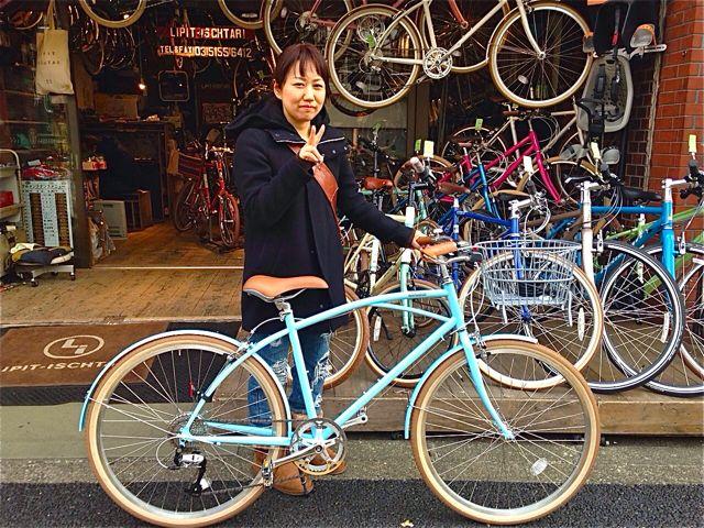 ☆今日のバイシクルガール5本立て☆ 自転車 女子 おしゃれ_b0212032_2222971.jpg