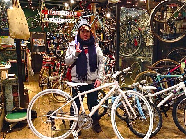 ☆今日のバイシクルガール5本立て☆ 自転車 女子 おしゃれ_b0212032_2223750.jpg