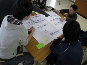 新潟翠江高等学校においてワークショップ『これからの<不平等>の話をしよう』を実施しました。_c0167632_19211978.jpg