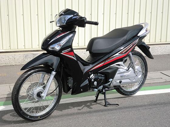 WAVE125にバイクザシートインサイド_e0114857_2062161.jpg