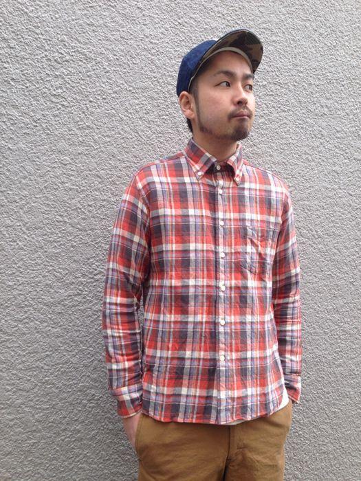 "Put on \""Eita ""Check"" Shirts\"" ①_d0227059_1855310.jpg"