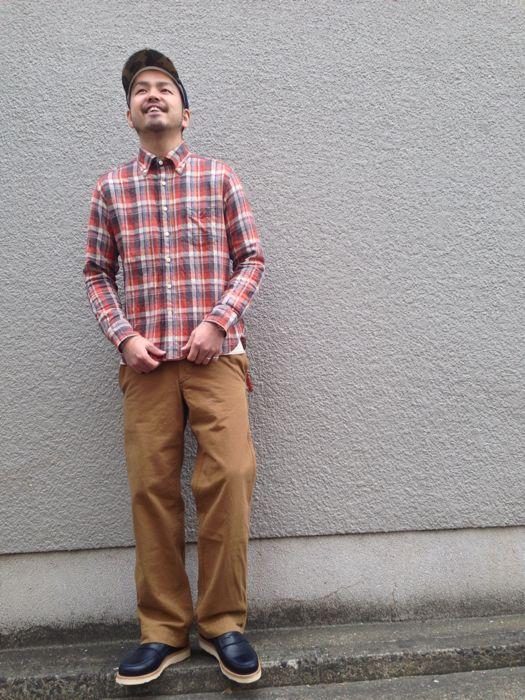 "Put on \""Eita ""Check"" Shirts\"" ①_d0227059_1855423.jpg"