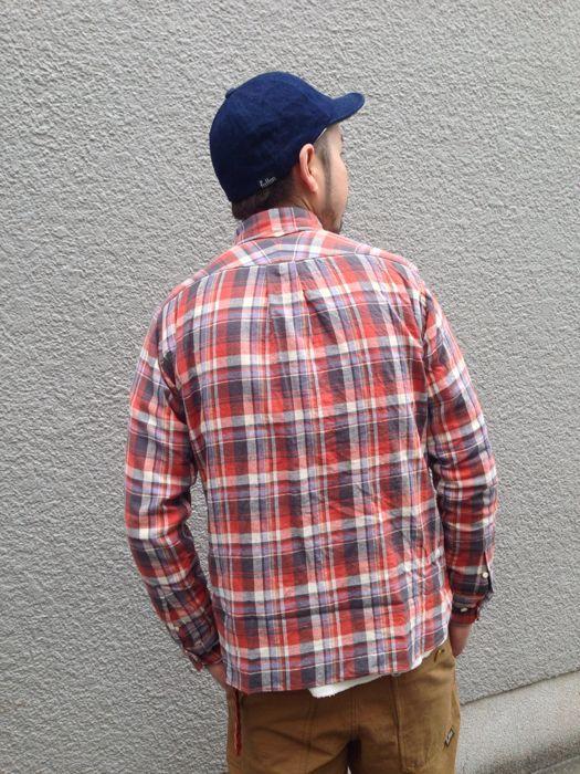 "Put on \""Eita ""Check"" Shirts\"" ①_d0227059_1855542.jpg"