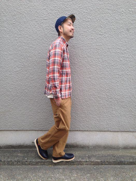"Put on \""Eita ""Check"" Shirts\"" ①_d0227059_1855573.jpg"