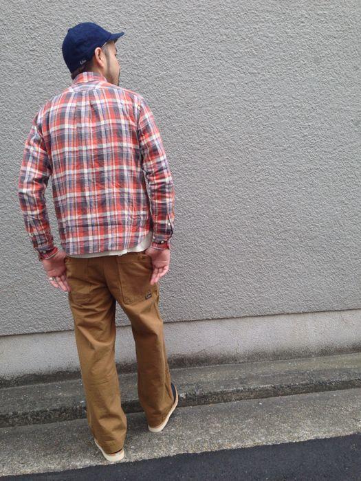 "Put on \""Eita ""Check"" Shirts\"" ①_d0227059_1855763.jpg"
