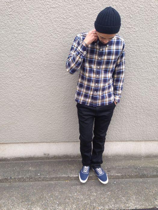 "Put on \""Eita ""Check"" Shirts\"" ②_d0227059_23113075.jpg"