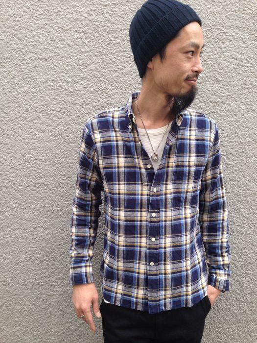 "Put on \""Eita ""Check"" Shirts\"" ②_d0227059_23113344.jpg"