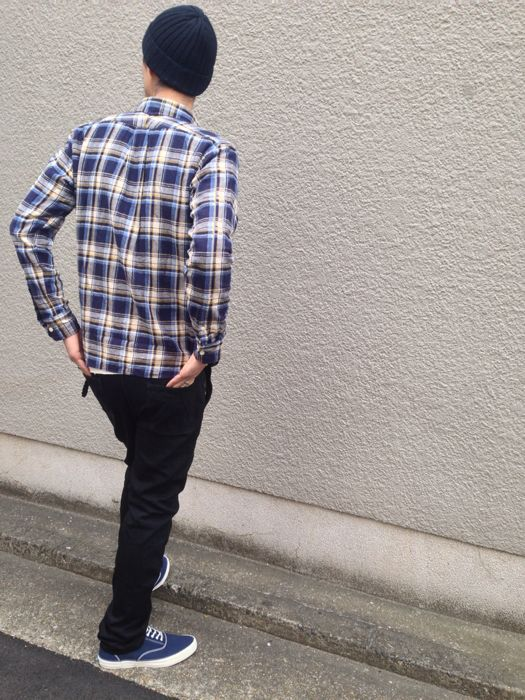 "Put on \""Eita ""Check"" Shirts\"" ②_d0227059_23113824.jpg"